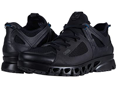 ECCO Sport Multi-Vent Air GORE-TEX(r) (Black/Black/Olympian Blue) Men