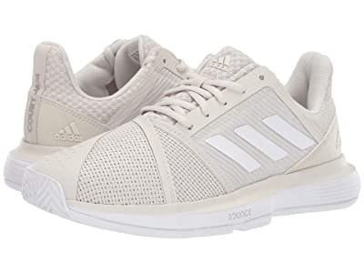 adidas CourtJam Bounce (Raw White/Footwear White/Matte Silver) Women