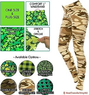 Best st patrick's day leggings plus size Reviews