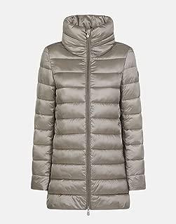Women's IRIS Quilted Stand Collar Coat & Knit Cap Bundle