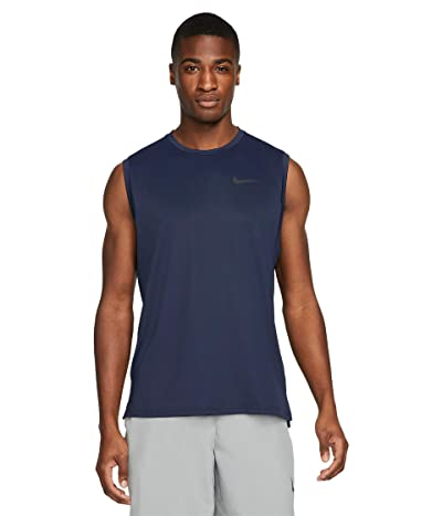 Nike Top Tank Hyper Dry (Obsidian/Black) Men