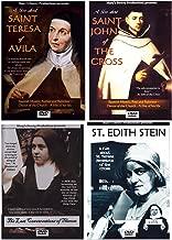 Saint Teresa of Avila, Saint John of the Cross, The Last Conversations of Therese of Lisieux, Saint Edith Stein, 4 DVD Film Set, Carmelite Spirituality, Carmelite Prayer, Carmelites Order