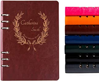 Best refillable leather notebook personalized Reviews