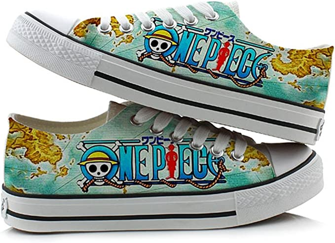 Telacos One Piece Anime Zoro Sanji Cosplay Shoes Canvas Shoes Sneakers Luminous 3 Choices