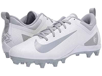 Nike Alpha Huarache 7 Varsity Low Lax (White/Wolf Grey/White) Men