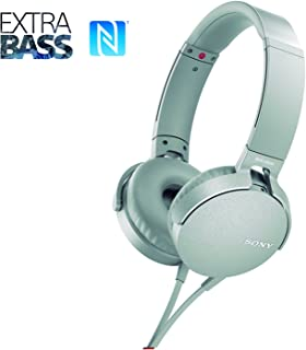 Headphone OverEar, MDR-XB550APWCLA, Branco (Gelo) Médio SONY