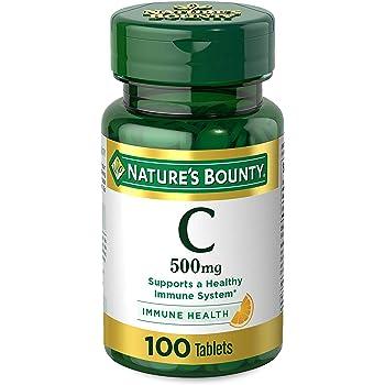 Nature's Bounty Pure Vitamin C 500 Mg - 100 Tablets