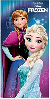 Toalla Frozen Disney Elsa Anna microfibra
