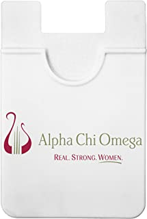 Sorority Shop Alpha Chi Omega - Koala Pouch - Adhesive Cell Phone Wallet