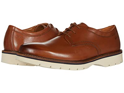 Clarks Bayhill Plain (Tan Leather) Men