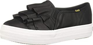 Keds Women's Triple Ruffle Leather Fashion Sneaker