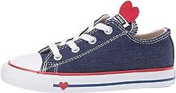 Chuck Taylor All Star Denim Love - Ox (Infant/Toddler)