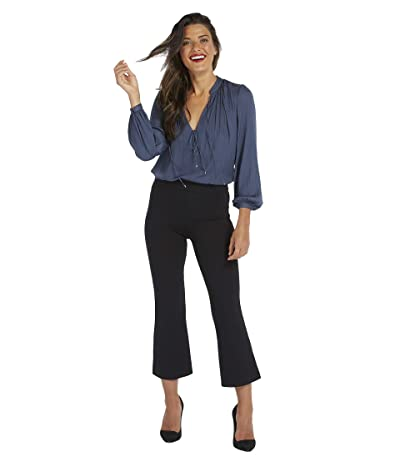 Spanx The Perfect Black Pant, Cropped Flare (Classic Black) Women
