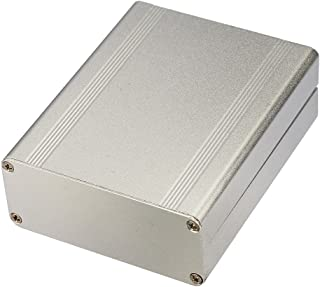 Eightwood Extruded Aluminum Project Enclosure Electronic Box Split Body DIY - 4.33