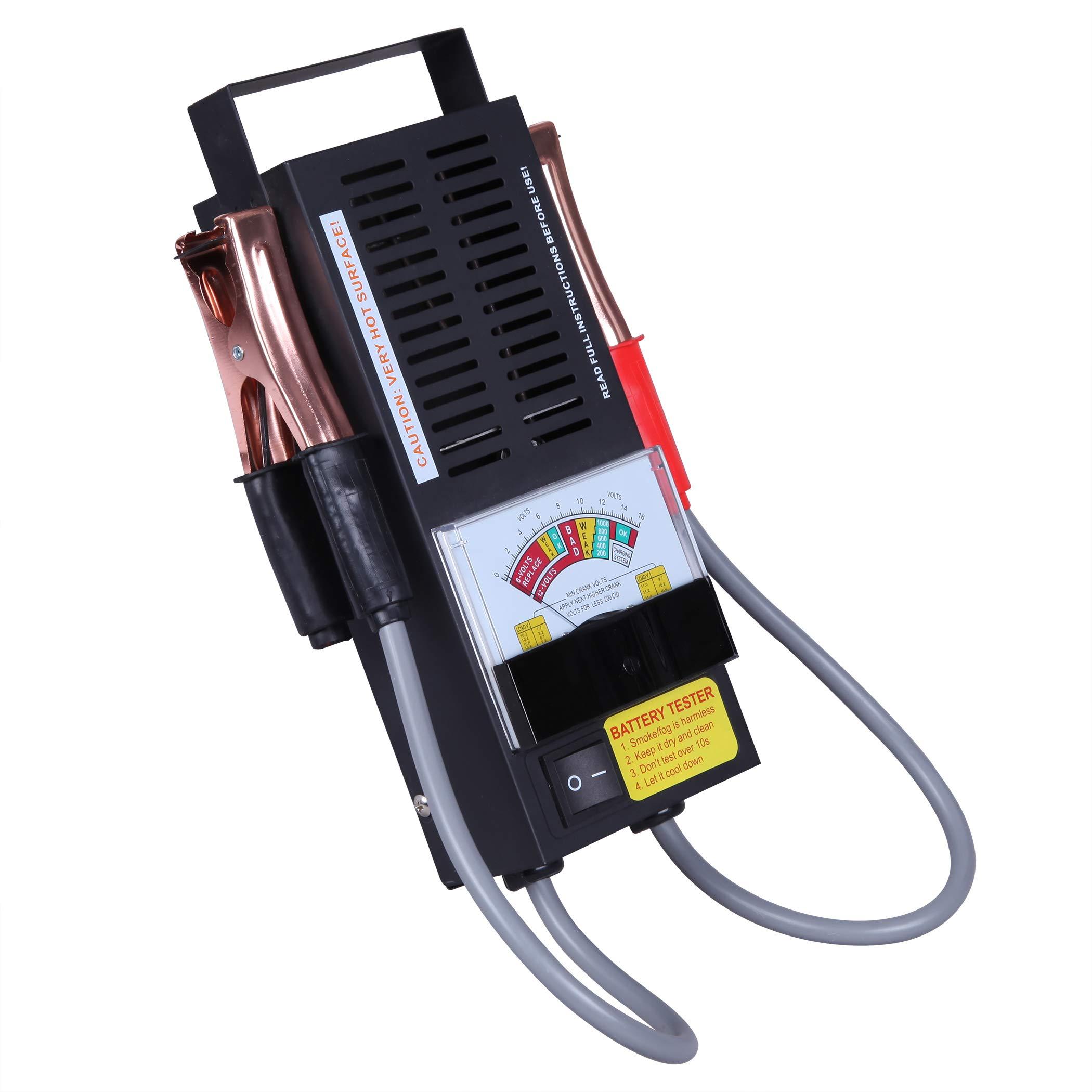 CARTMAN Loading Battery Tester 12V