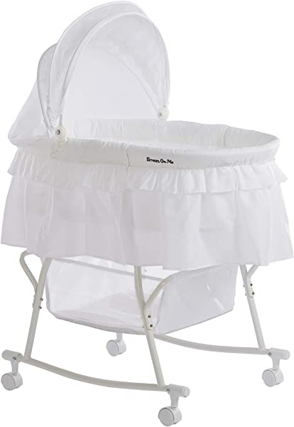 Dream On Me Lacy Portable 2 In 1 Bassinet