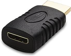 Cable Matters HDMI to Mini HDMI Adapter (HDMI Male to Mini HDMI Female Adapter)