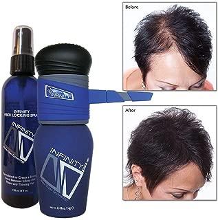Infinity Hair Fiber Kit – Pump Applicator & Locking Spray - Hair Building - for Men & Women – Light Blonde, 14g