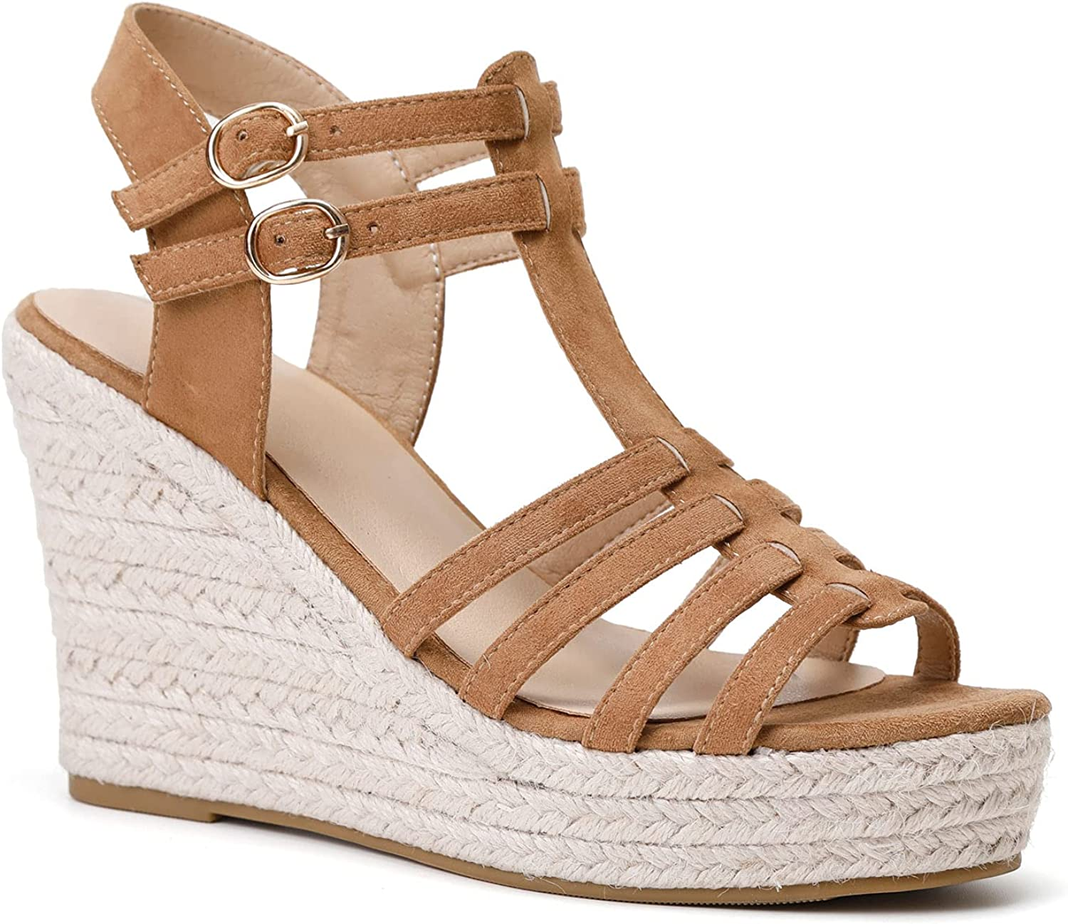 Women's Classic Summer Platform Dress Strap Sandals Wedge Ankle Large-scale sale Purchase