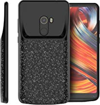 NCTech Battery Case for Xiaomi Mi Mix 2,4700mAh Portable Battery Smart Pack Rechargeable Protective Battery Case for Xiaomi Mi Mix 2 External Charger Cover Charging Case —Black