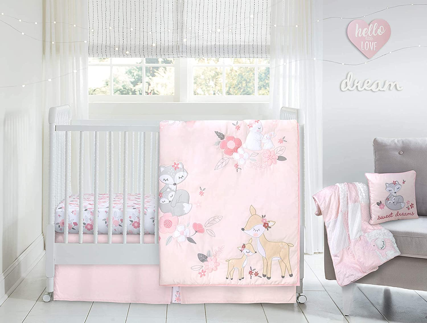 Wendy Bellissimo 4pc Nursery Bedding Baby Free Shipping New Manufacturer OFFicial shop - Set Gir Crib