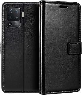 جراب محفظة Oppo A94، جراب قلاب مغناطيسي من الجلد الصناعي الممتاز مع حامل بطاقة ومسند لـ Oppo A94