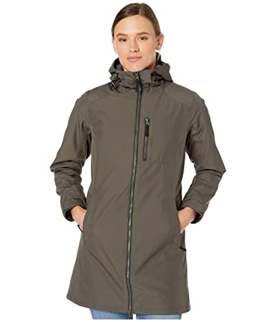 Helly Hansen Long Belfast Winter Jacket (Beluga) Women