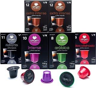 comprar comparacion 120 Cápsulas Nespresso Surtido Compatibles con Máquinas Nespresso - 40 Extra Intense, 20 Ristretto, 20 Intense, 20 Arabica...