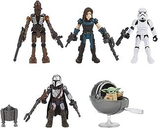 Star Wars Mission Fleet Defend The Child Kit Múltiplo de Figuras com Acessórios - F1198 - Hasbro