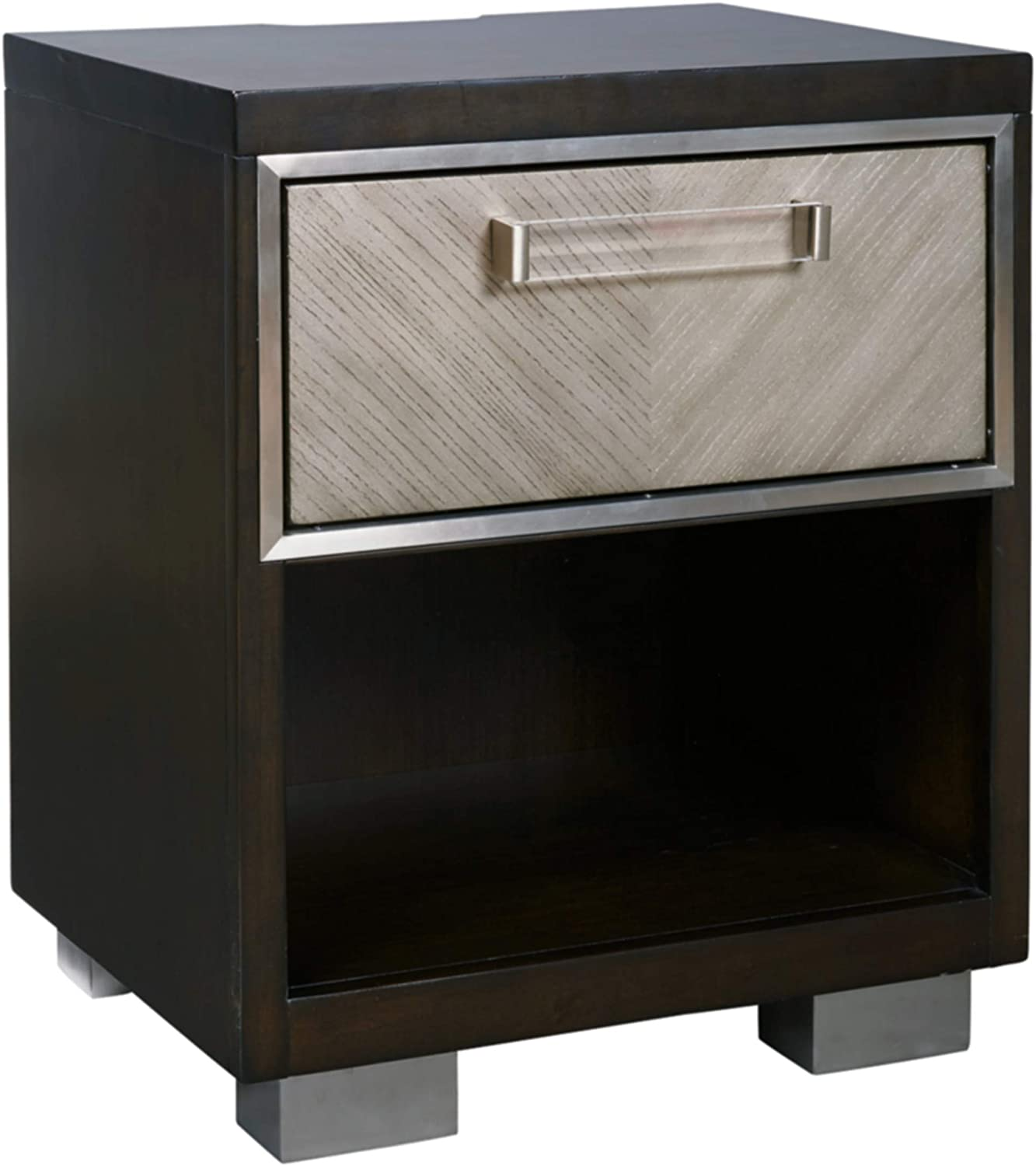 Signature Design by Ashley SEAL In a popularity limited product Maretto Stand Drawer Two-T One Night