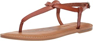 Women's Casual Thong with Ankle Strap Sandal