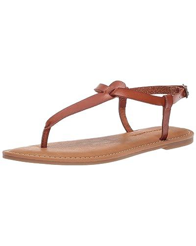 e73944101d5f Women s Brown Leather Sandals  Amazon.com