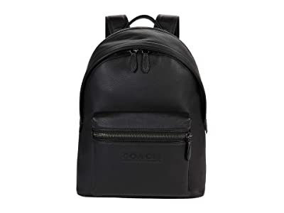 COACH Charter Backpack in Refined Pebbled Leather