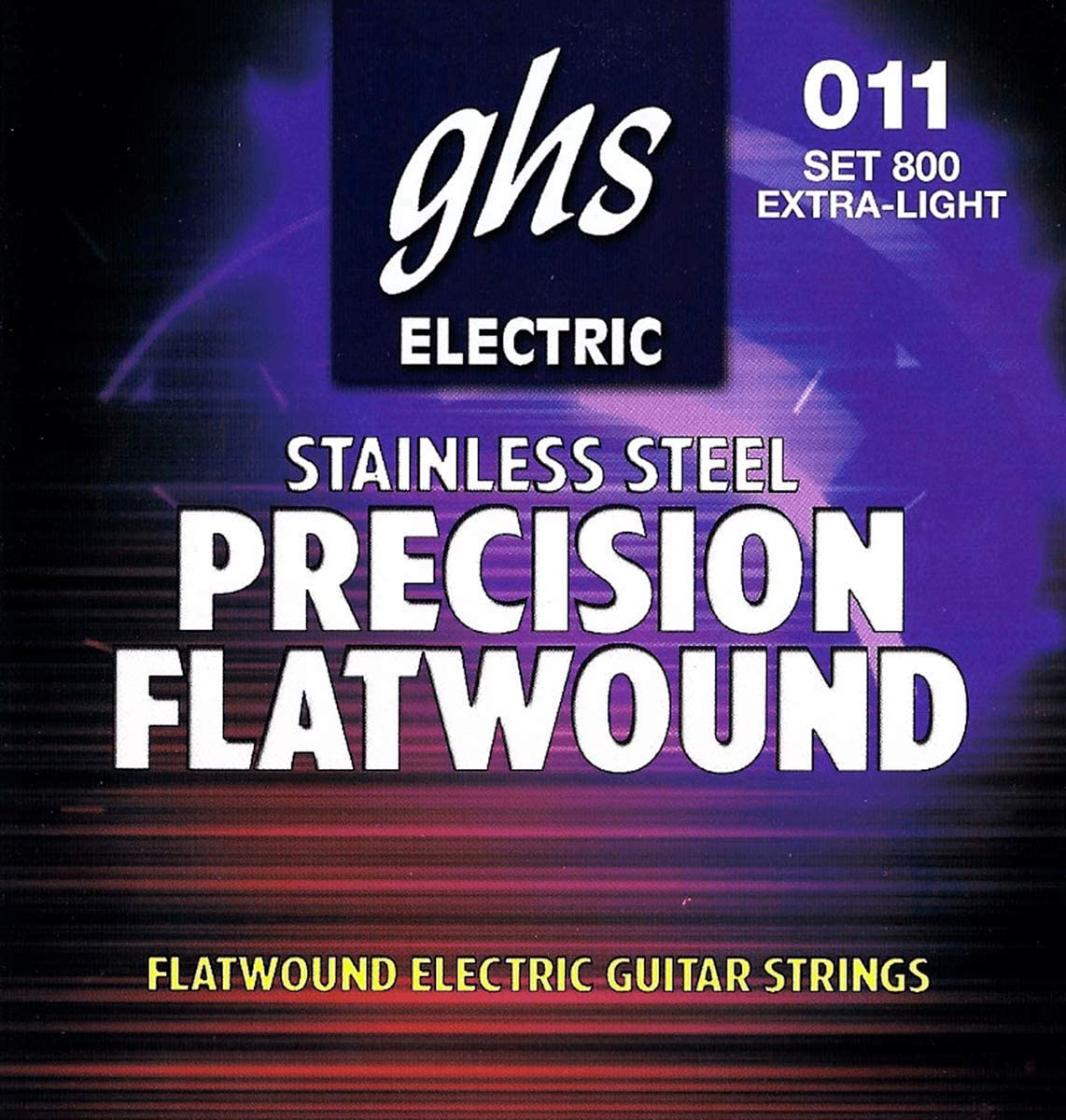 Direct stock discount GHS Precision Flats Electric 11-46 Guitar Factory outlet Strings