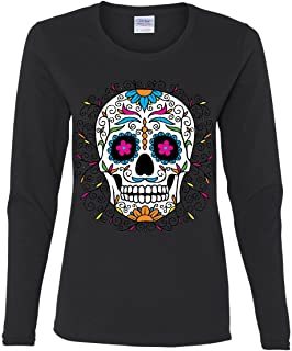 Best day of the dead long sleeve t-shirts Reviews