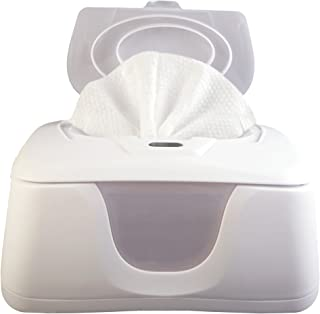 Baby Wipes Warmer and Dispenser, Advanced Features with 4 Bright Auto Off LED Ample Lights for Easy Nighttime Changes, Dual Heat for Baby's Comfort, Improved Design and Only Available at Amazon