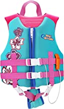 HeySplash Life Jacket for Kids, Child Size Watersports Swim Vest Flotation Device, Boys Girls Swim Training Aid Suitable for 30-50 lbs(Size M) or 50-90 lbs(Size L)