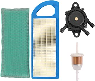 Harbot GY20573 Air Filter with Fuel Pump for John Deere LA110 LA100 LA105 LA115 L100 L105 L108 X110 105 115 1642HS 1742HS Sabre Lawn Tractor