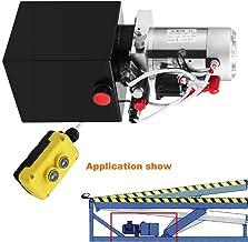 Autovictoria Bomba Hidraulica De Doble Efecto Bomba Hidraulica 12V Dump Trailer 4L Reservoir Controlado Remotamente (4L)