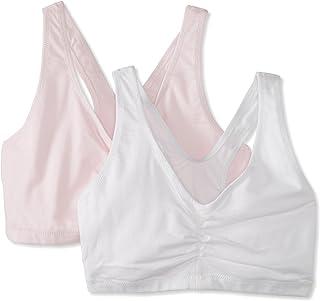 Hanes Women's Comfort-Blend Flex Fit Pullover Bra (Pack of