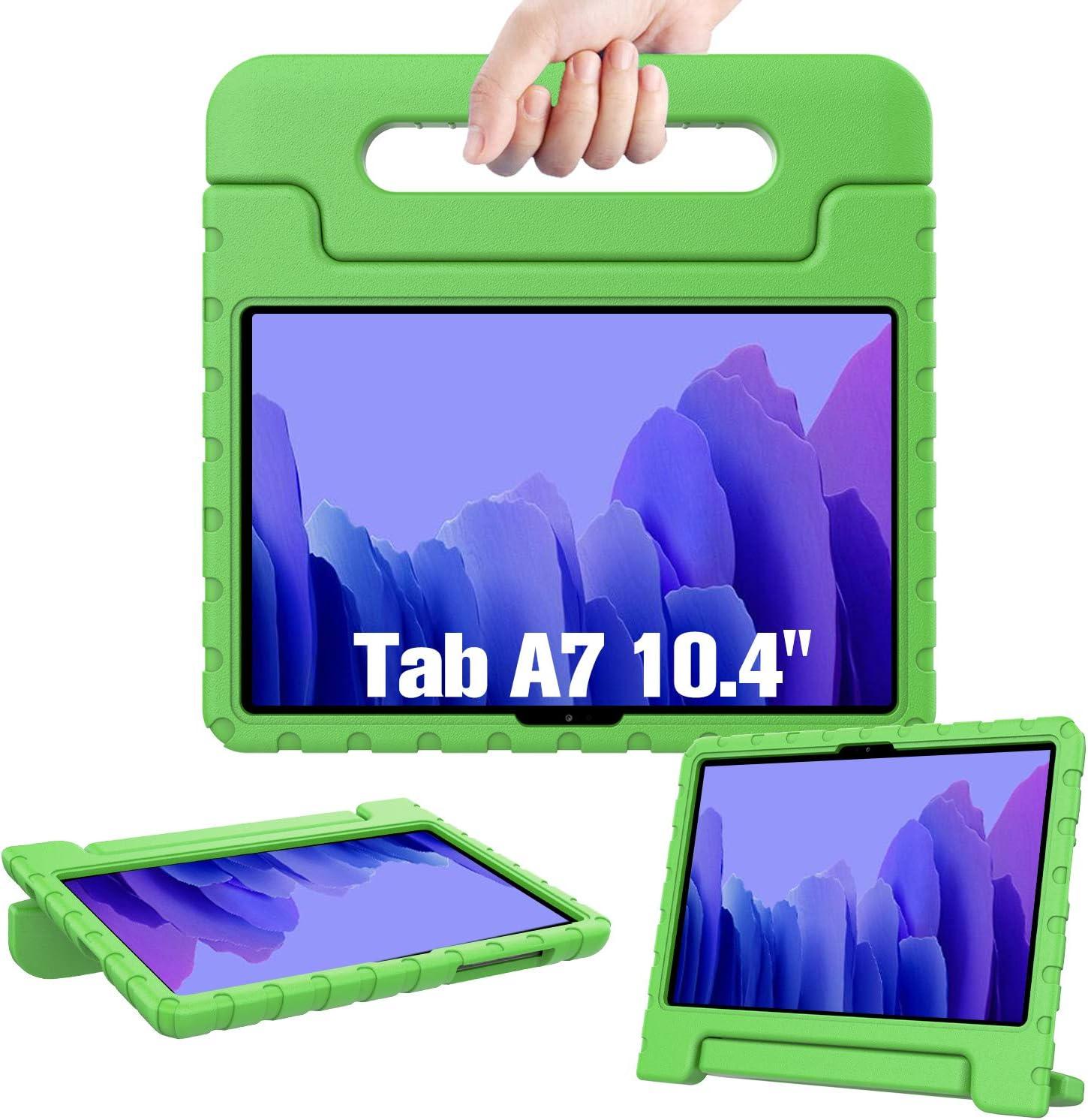 funda infantil para Samsung Galaxy Tab A7 10.4 SM-T500 verde