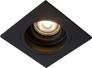 Lucide 22959/01/30 Embed Spot Encastrable, Métal, GU10, 42 W, Noir, 1 Unité (Lot de 1)