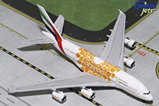 GeminiJets Emirates A380 A6-EOU Expo 2020 1:400 Scale Diecast Model Airplane