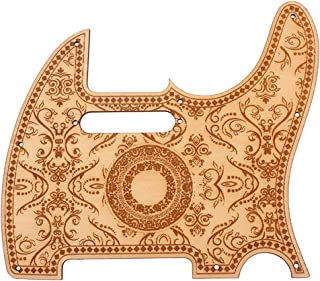Gazechimp Pickguard de Guitarra de Arce Soporte Instrumento Musical Repuesto para Tele Telecaster Tl