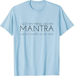 Prosperity Mantra on Gold Coins Background ts/_314195 3dRose Cassie Peters Mantras Adult T-Shirt XL