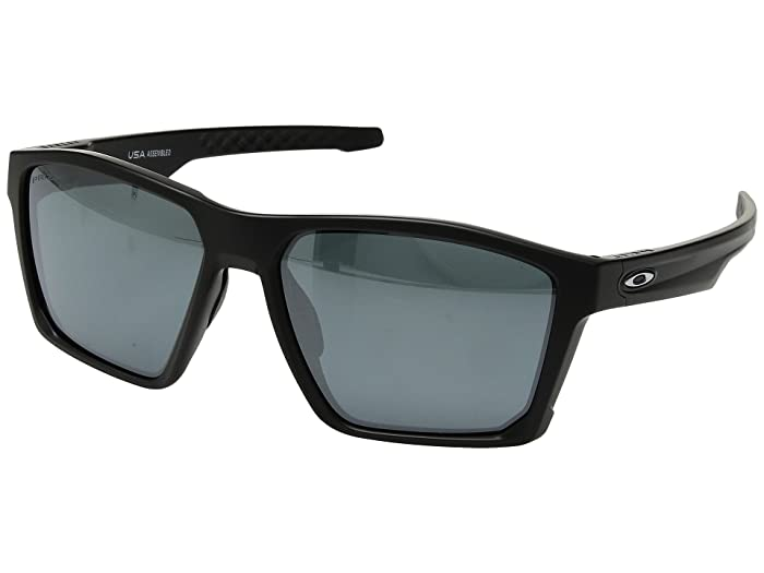 Oakley Targetline (Matte Black w/ Prizm Black) Athletic Performance Sport Sunglasses