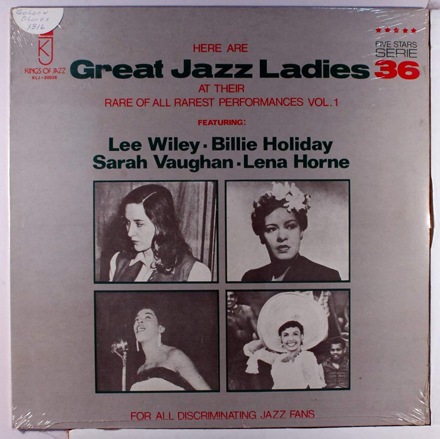 great jazz ladies, vol. 1 LP