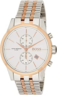 Hugo Boss Womens Quartz Watch, Chronograph Display and Stainless Steel Strap 1513385