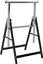 Meister Metalen bok, 200 kg, inklapbaar, variabele werkhoogte van 800-1300 mm, 7-traps hoogteverstelling, met vergrendelin...