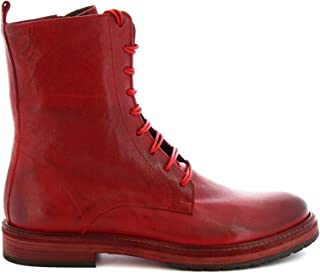 LEONARDO SHOES Luxury Fashion Womens 5311RED Red Ankle Boots | Fall Winter 19
